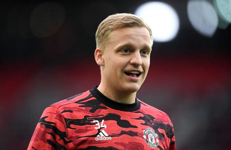 Donny van de Beek is itching for regular first-team football.