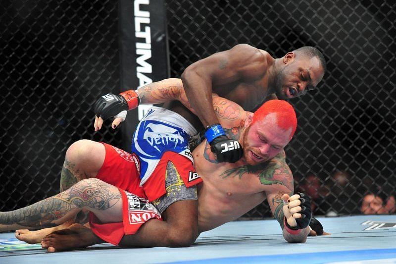 Derek Brunson debuted in the UFC almost a decade ago at UFC 155