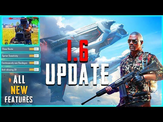 Social features in PUBG Mobile 1.6 update (Image via NaturaL YT; YouTube)