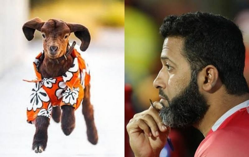 Wasim Jaffer O(right shared a cryptic message ahead of Monday's IPL 2021 clash between KKR and RCB.
