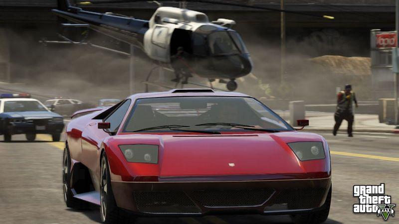 GTA 5 最好使用作弊码(图片来自 Rockstar Games)