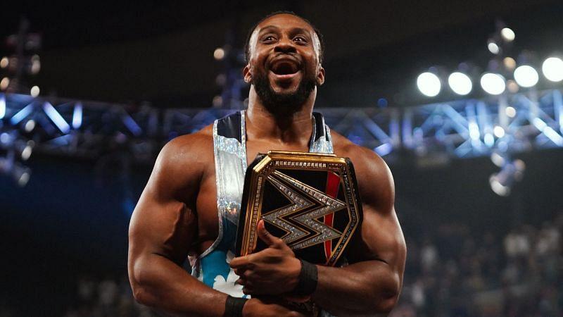 Big E, - the new WWE Champion on RAW