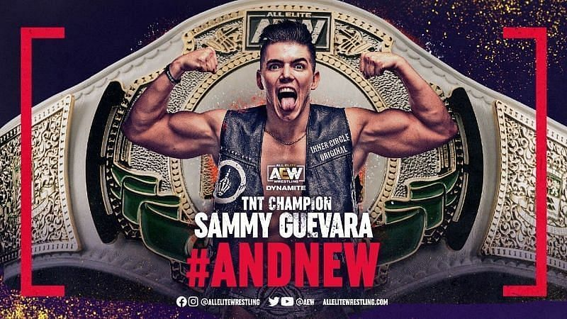 Sammy Guevara TNT Champion