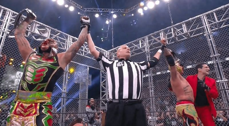 AEW World Tag Team Championship The Lucha Brothers