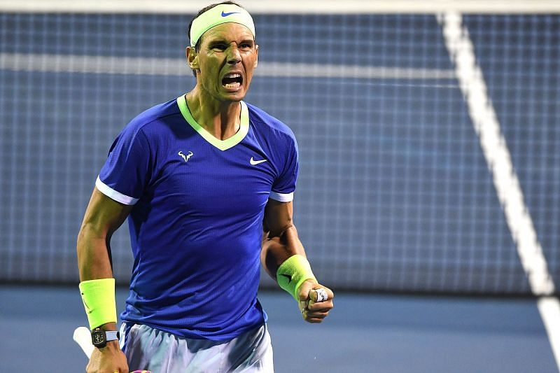 Rafael Nadal has been out of action since August this year