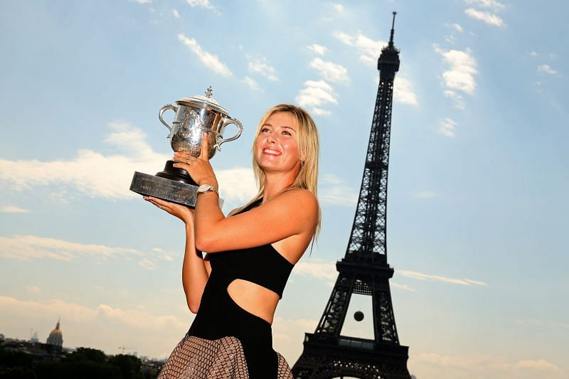 Maria Sharapova handled the media pressure quite well after being thrust into the spotlight at a young age.