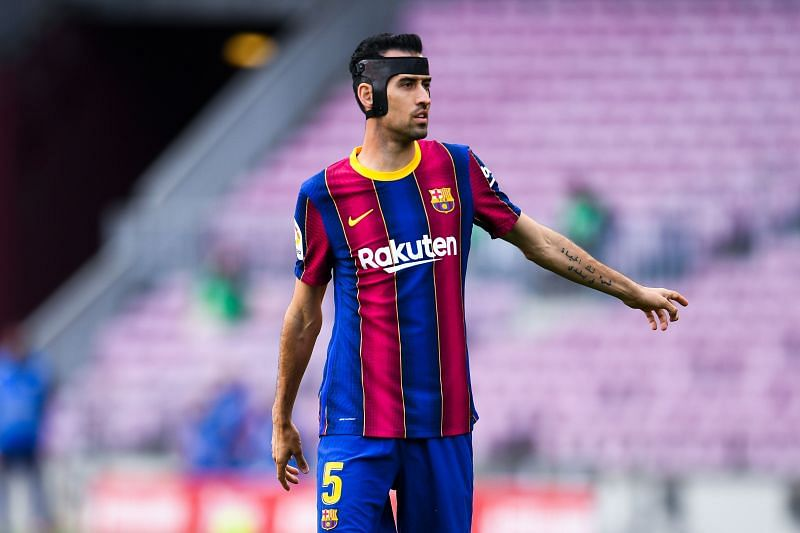 Sergio Busquets is a key player for Barcelona.