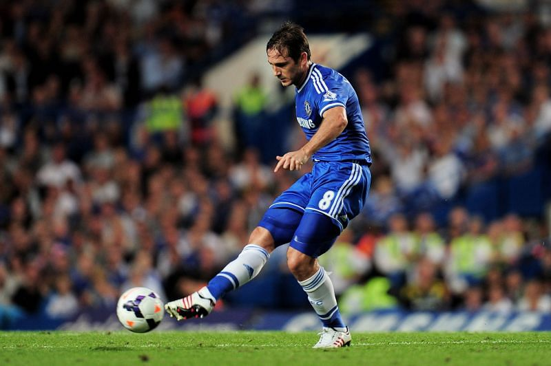 Frank Lampard scored many goals in the Champions League