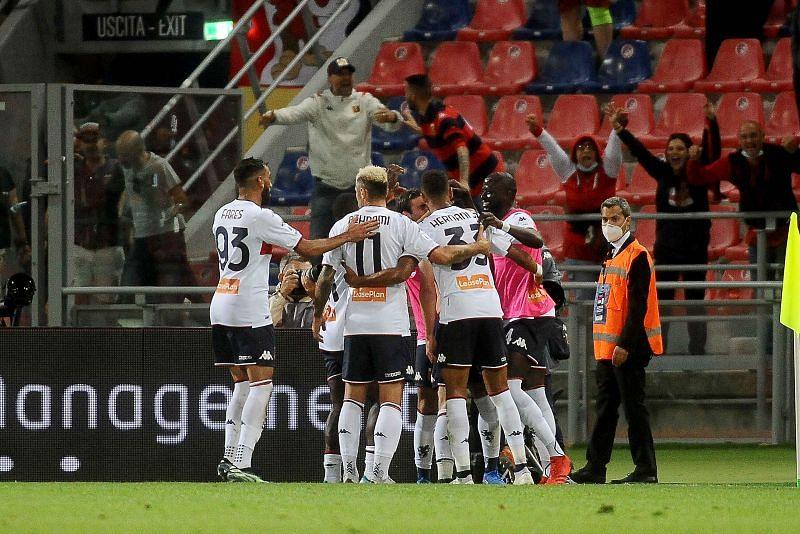 Genoa will square off with Salernitana on Saturday