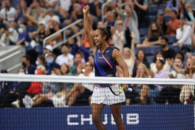 US Open Leylah Annie Fernandez
