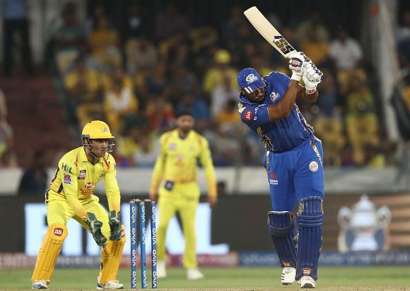 Kieron Pollard scored 87 runs against CSK during Phase 1 of IPL 2021