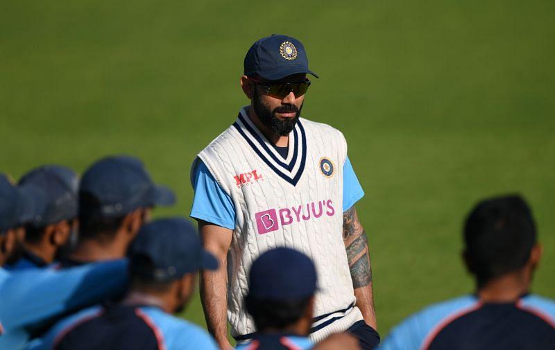 विराट कोहली भारतीय टीम के नेट सेशन के दौरान