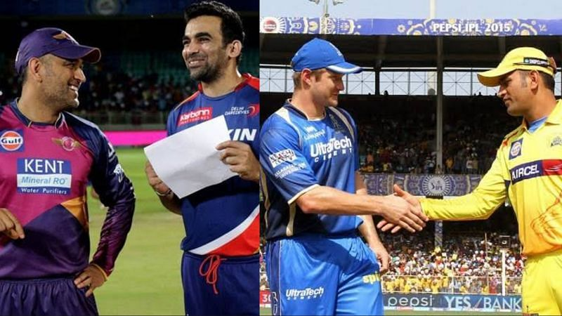 Zaheer Khan and Shane Watson are among the bowlers who have picked up MS Dhoni's wicket the most times in IPL history