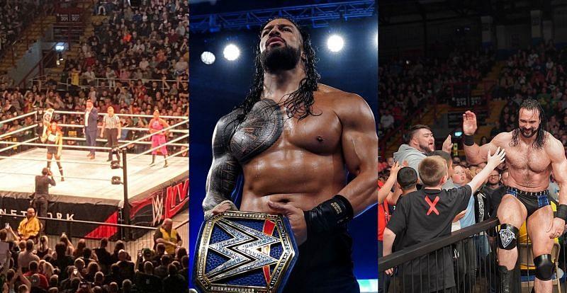 WWE Live Event में बैकी लिंच ने मेन इवेंट में डिफेंड की अपनी चैंपियनशिप