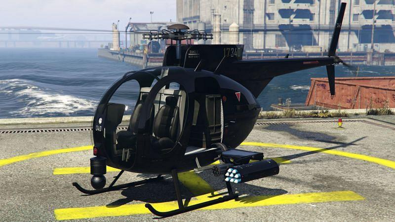 Le Buzzard Attack Chopper (Image via Rockstar Games)