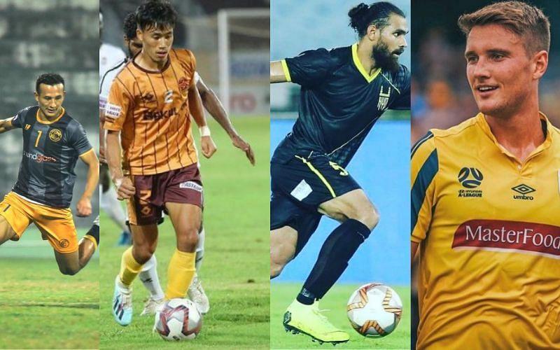 Indian transfers on deadline day [Image Credits: Chencho Gyeltshen, Dylan Fox, Naocha Singh/Instagram]