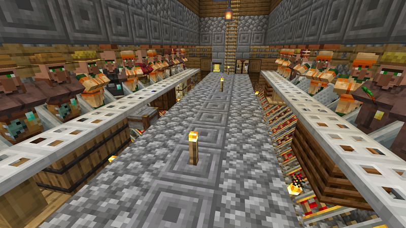 Villagers have a large assortment of jobs at their disposal, and players can even switch them out if needed (Image via Mojang).