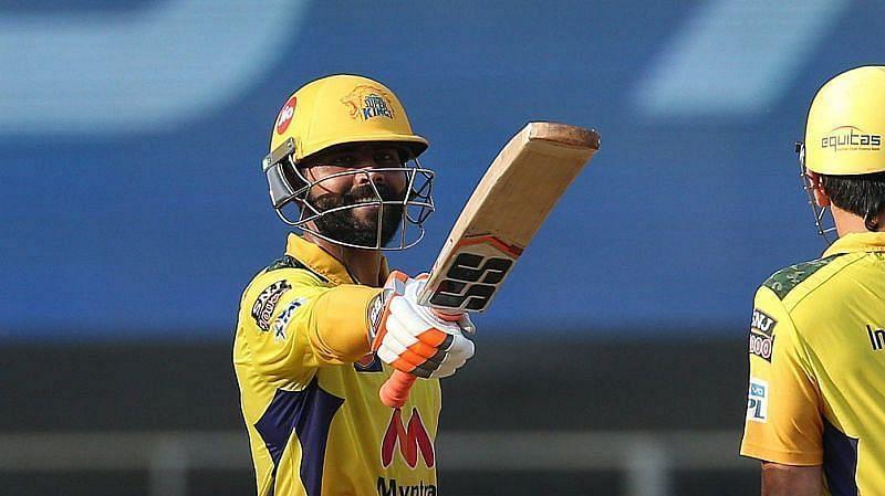 रविंद्र जडेजा ने आईपीएल 2021 के पहले हाफ में बल्ले से अच्छा प्रदर्शन किया था