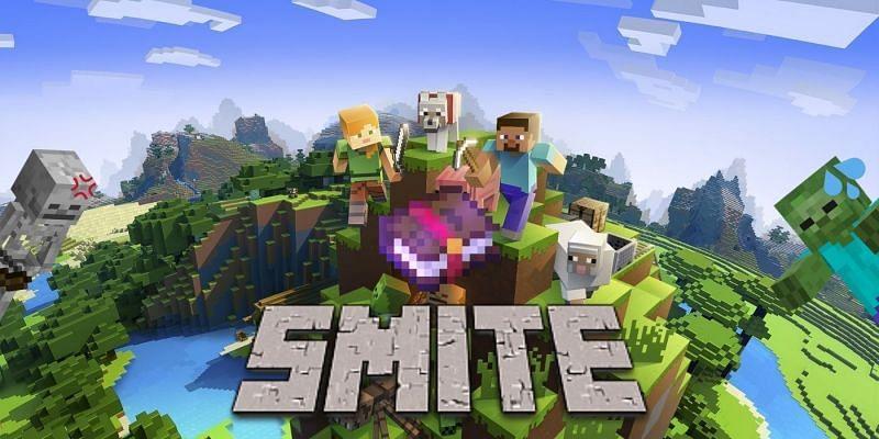 Smite enchantment in Minecraft (Image via Minecraft)