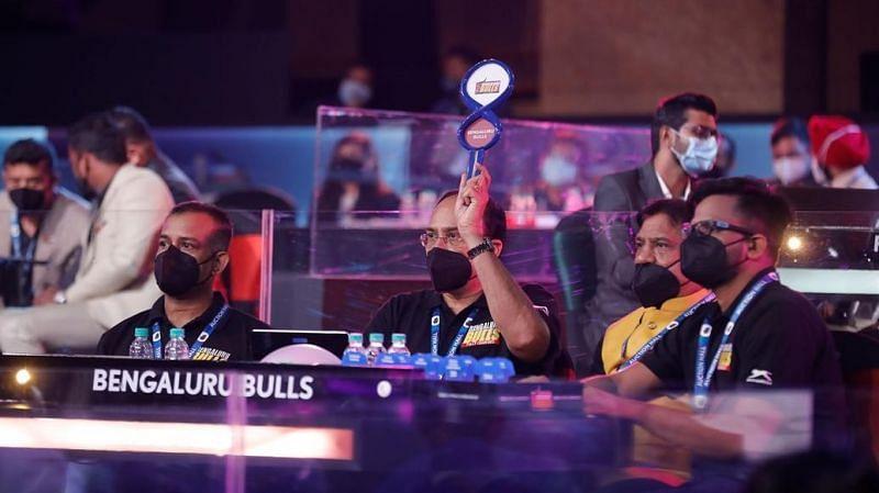 Bengaluru Bulls at PKL Auction 2021