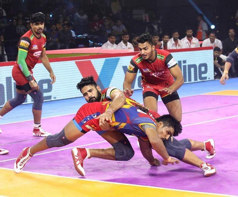 Mahender Singh has been crucial to Bengaluru Bulls' defense.