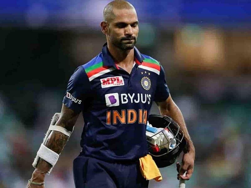Shikhar Dhawan was a surprsing exclusion from India's T20 World Cup squad.