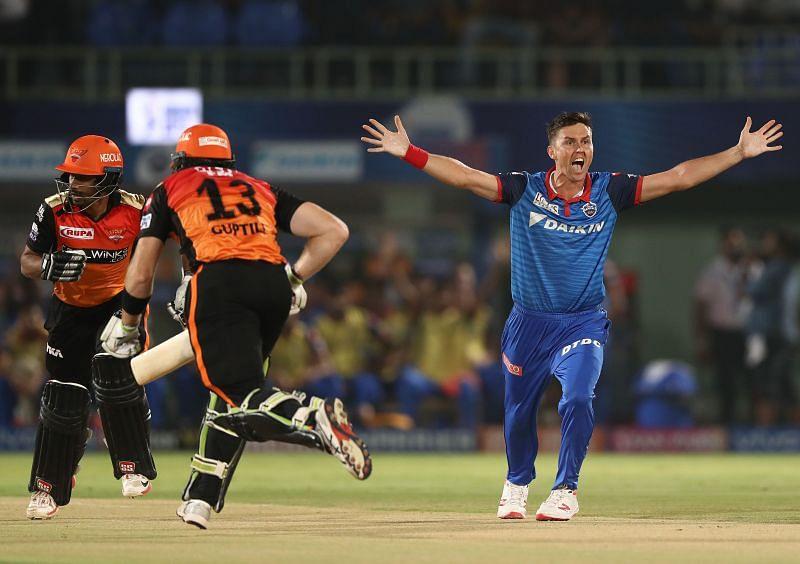 Trent Boult IPL Eliminator - Delhi v Sunrisers (Getty Images)