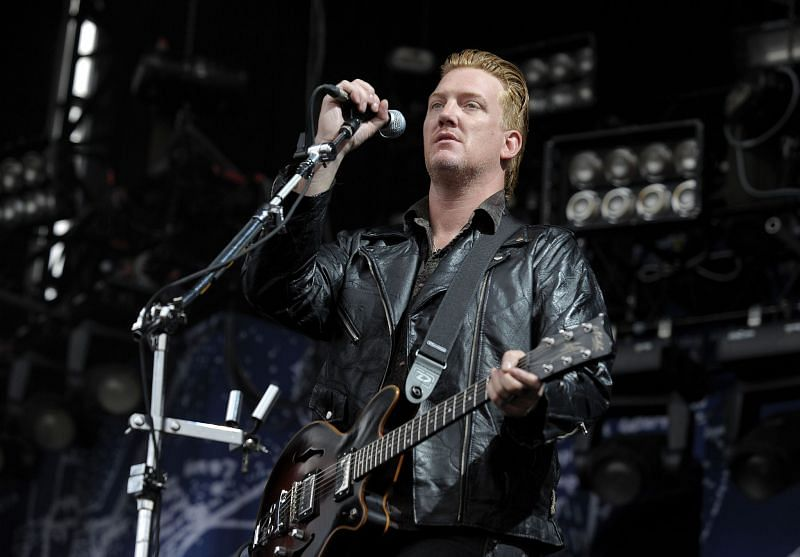 Josh Homme at the Soundwave Music Festival (Image via Getty Images)