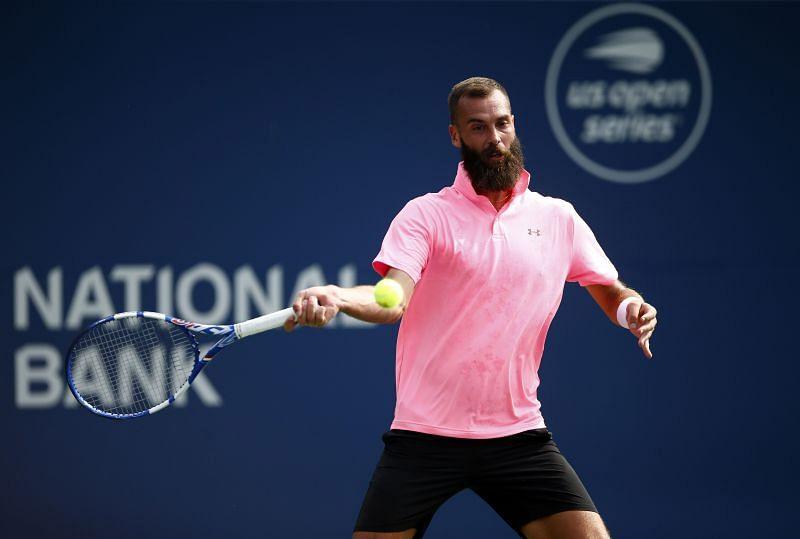 Benoit Paire at the 2021 Toronto Open
