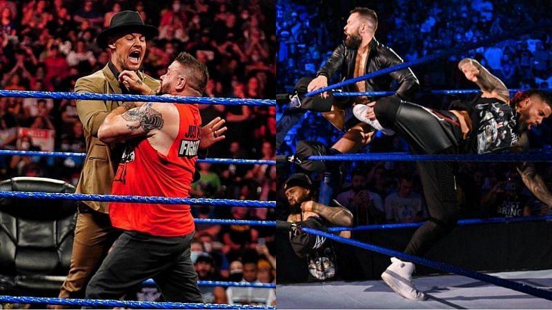 WWE SmackDown के इस हफ्ते के धमाकेदार एपिसोड के दौरान कुछ गलतियां भी देखने को मिलीं