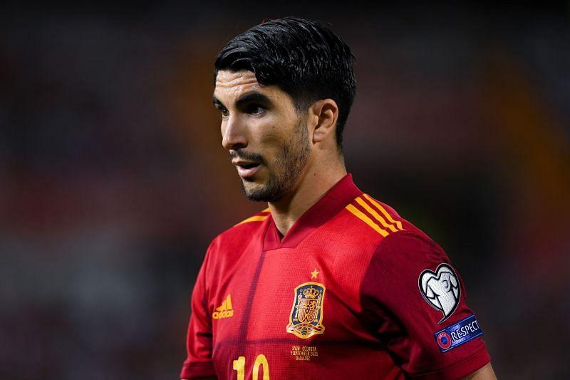 Soler in action for Spain against Georgia