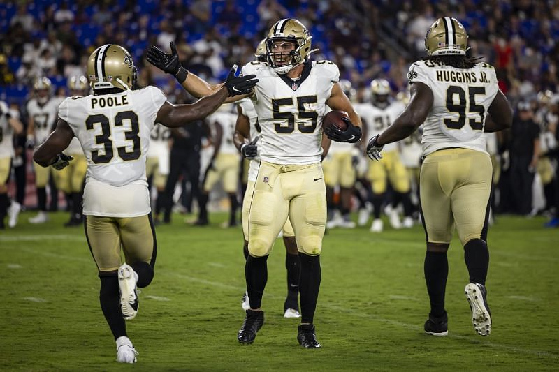 New Orleans Saints vs Baltimore Ravens