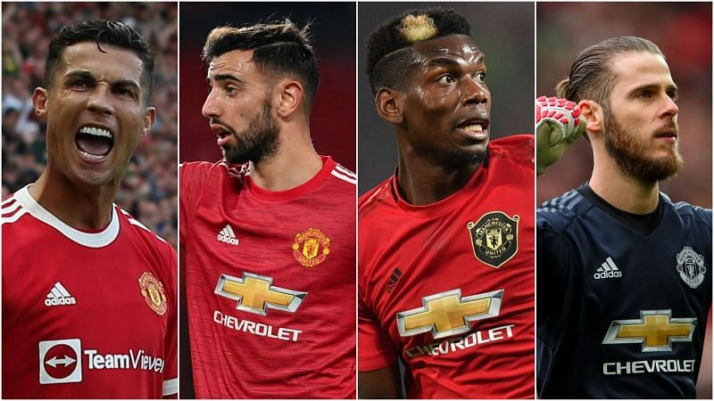 Manchester United's FIFA 22 ratings are out (Image via Manchester United)