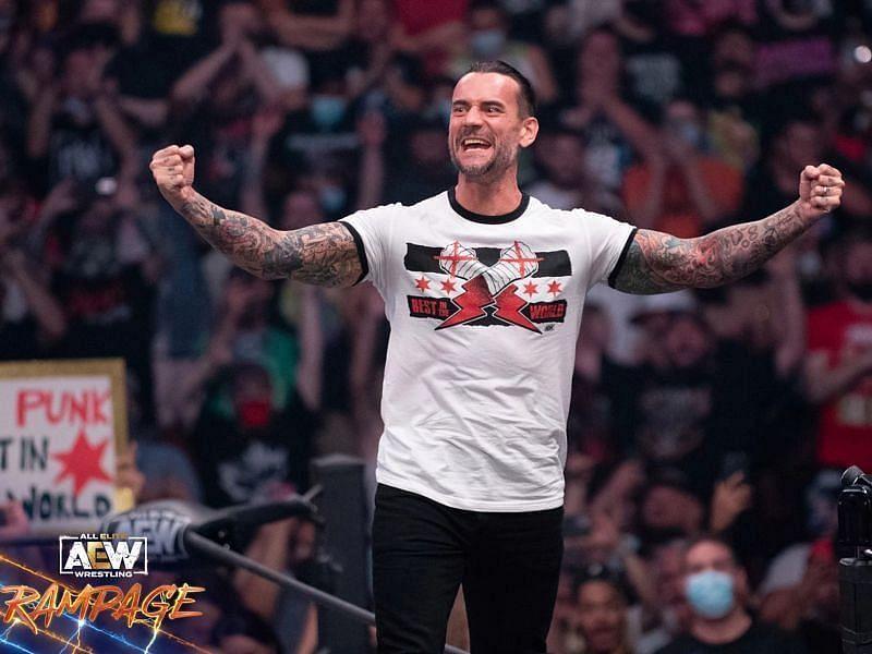 WWE में भी सीएम पंक ने बहुत नाम कमाया