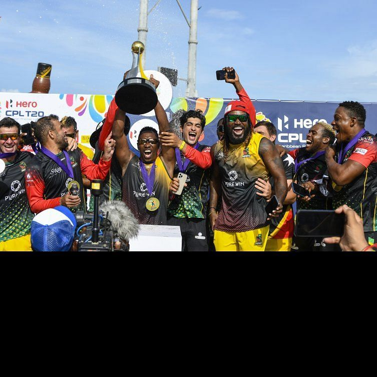 St. Kitt and Nevis Patriots win the CPL 2021 (image credit: CPL T20 Ltd.2021)