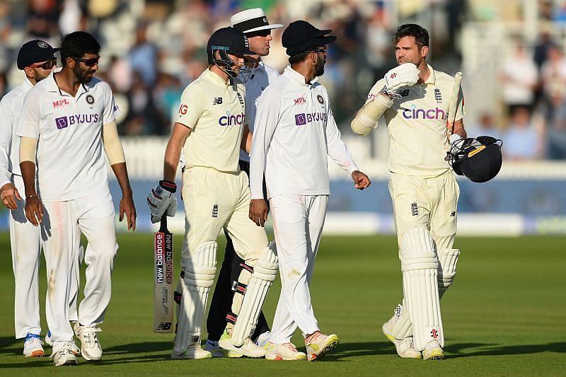 भारत और इंग्लैंड के बीच टेस्ट सीरीज के दौरान जेम्स एंडरसन से काफी गहमा-गहमी देखने को मिली थी