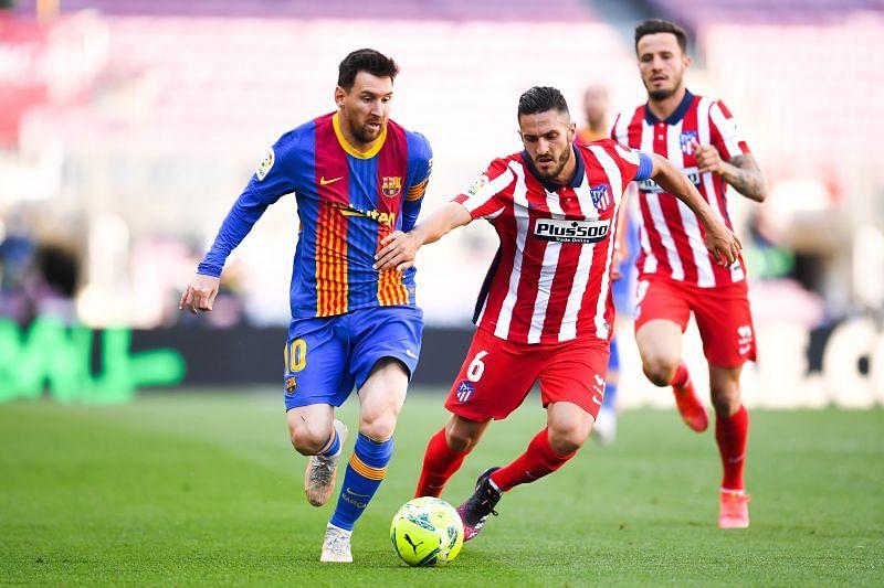 Messi has scored consecutive hat-tricks vs Atletico Madrid