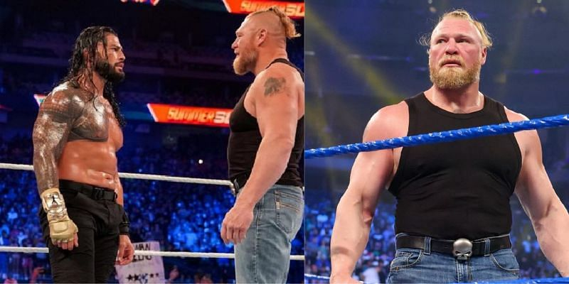 WWE में ब्रॉक लैसनर बेबीफेस के रूप में नजर आ रहे हैं