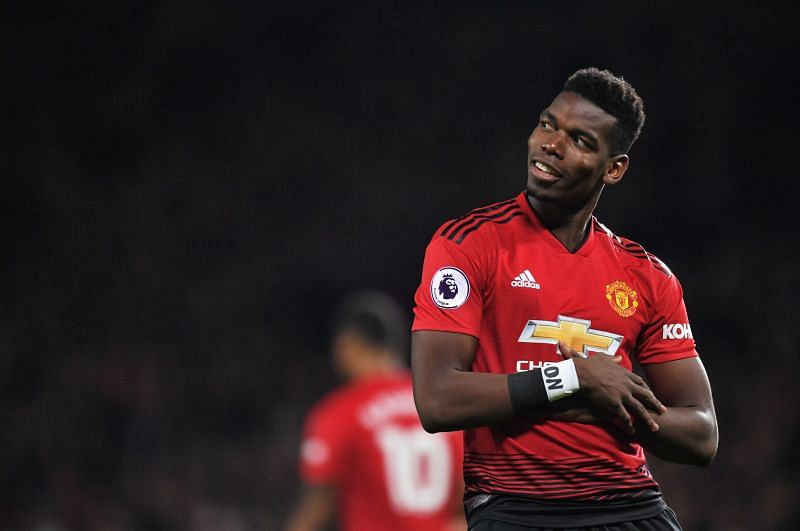 Paul Pogba's contract expires at Manchester United next year