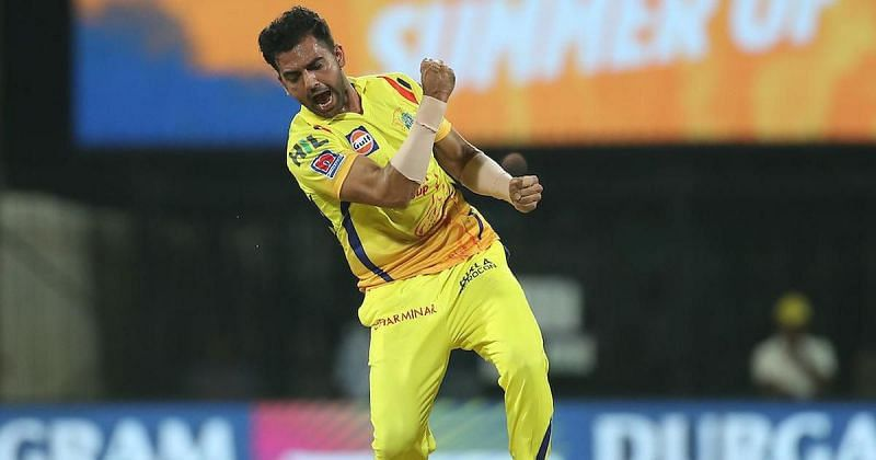 Deepak Chahar starred in another CSK victory (Pic Credits: Scroll)