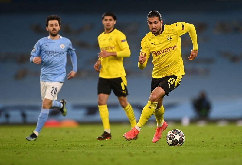 Emre Can - Manchester City vs Borussia Dortmund - UEFA Champions League Quarter Final: Leg One