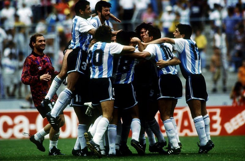 After losing the 1990 FIFA World Cup final versus, the Albiceleste stockpiled 31 games undefeated