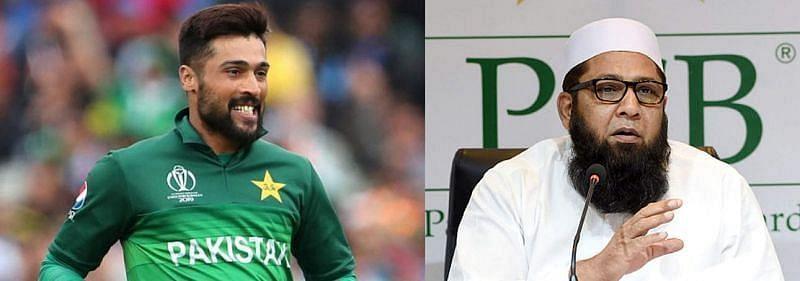 इंजमाम उल हक ने मोहम्मद आमिर से संन्यास वापस लेने की अपील की