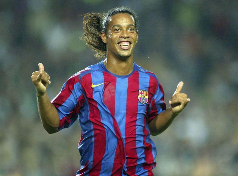 Ronaldinho was magisterial for Barcelona