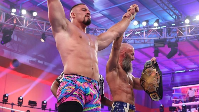 Tommaso Ciampa found a new tag team partner on WWE NXT