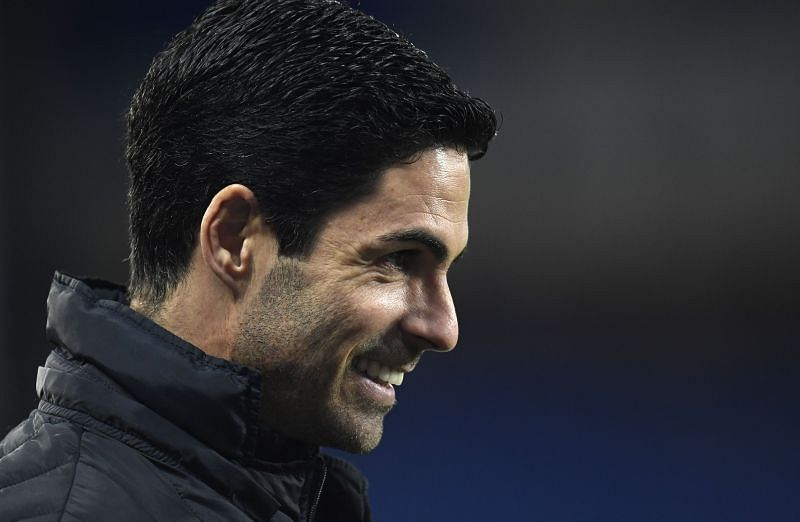 Arsenal manager Mikel Arteta. (Photo by Peter Powell - Getty Images)