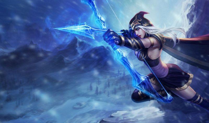 Ashe updates (Image via Riot Games)ge via Riot Games)