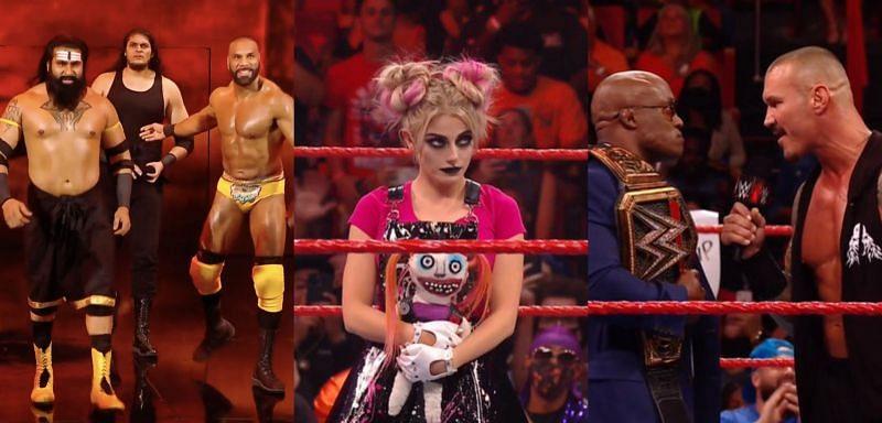 WWE Raw के एपिसोड में काफी जबरदस्त एक्शन देखने को मिला