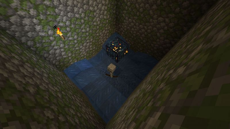 A dungeon mob farm in Minecraft (Image via YouTube)