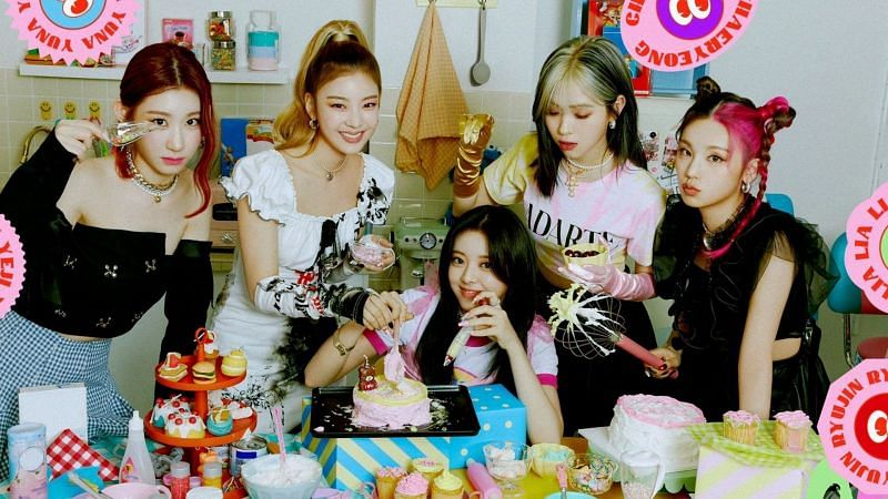 ITZY concept photo for Crazy In Love (Image via Twitter/ITZYOFFICIAL)